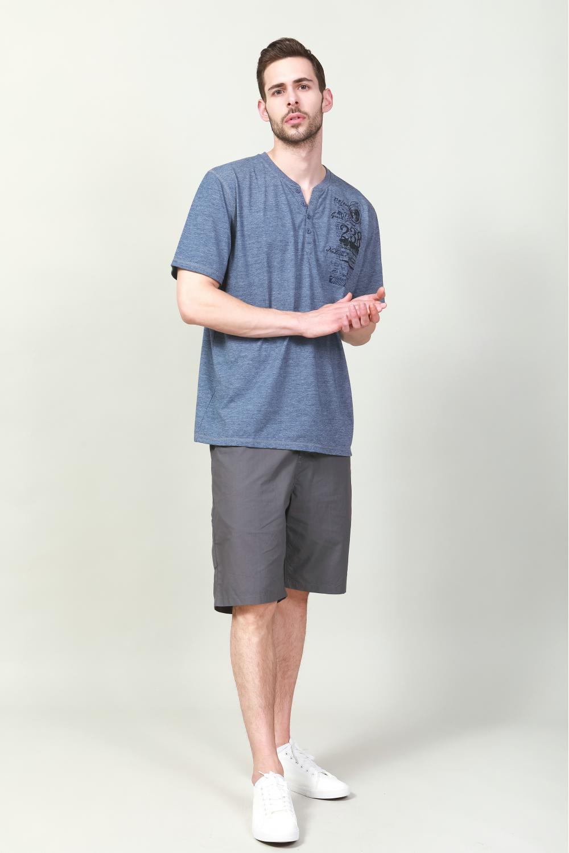 Men's TC printing T-shirts
