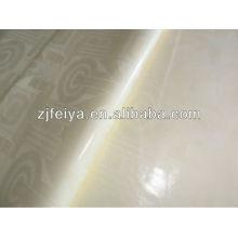 Акции хорошие продажи Базен riche Гвинея парчи высокое качество 10 ярды кусок цвета сливок FYC7021-Джей