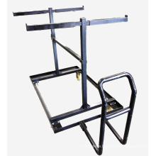 30 Unit Capacity Storage Pushcart for 8 Ft. Steel Barricades