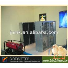 Système professionnel de ventilation automatique de volaille pour le poulet et le poulet