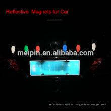 Etiqueta engomada del reflector del coche, etiqueta engomada del mangtic de Reflex