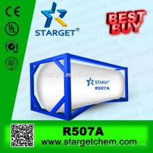 La mejor calidad Buena venta HFC gas refrigerante r507