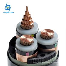Cable de alimentación aislado 10kv 3cx240mm xlpe