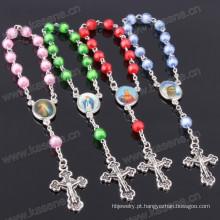 Venda quente muitas cores Plastic Cadeia item religioso