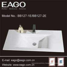 Ceramic Fashion Semi-Counter Bathroom sink (BB127-2E)