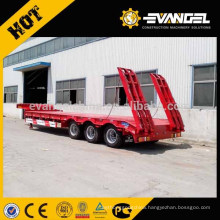 Most Popular 60 Ton 3 Axle Low Bed Semi Trailer