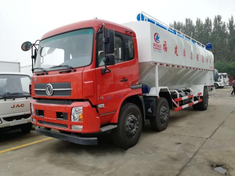 Bulk Fodder Transport Truck 3