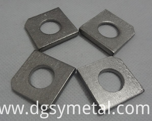 metal square washer