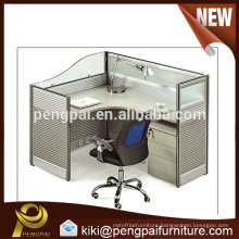 Hot sale MDF panel one person staff desk for office