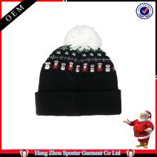 16FZCB04 christmas beanie knit beanie custom