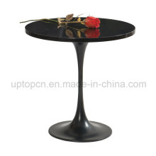Black Metal Painting Tulip Table for Reception Room (SP-GT391)