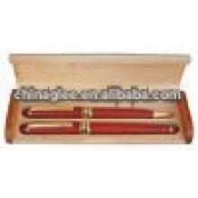 высокое качество перо коробка деревянная ручка
