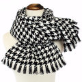 Womens Soft Cashmere Feel Alike Swallow Gird Printing Stole Shawl Scarf (SP277)