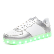 Pink Woven Yeezy LED Shoes for Ladies