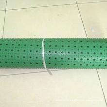 Tapis de plancher de feuille de caoutchouc de butadiène de nitrile vert de NBR