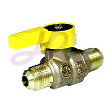 Bronze gas ball valve M/M