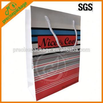 Modepapier-Strandtasche für Werbung