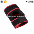 Neoprene knee support belt with basic open patella stabilizer