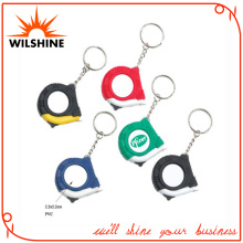 Popular Retractable Mini Tape Measure with Key Chain (MT185S)
