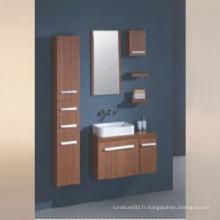 Mobilier de salle de bain en mélamine avec armoire latérale (SW-ML1206)
