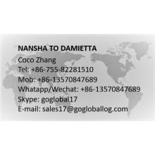 Guangzhou Nansha to Egypt Damietta