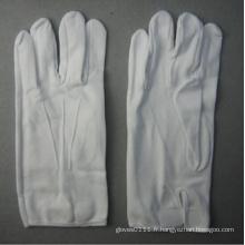 Gant de travail en coton blanc