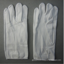 White Cotton Work Glove