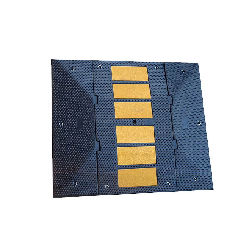 high intensity road traffic rubber speed humps