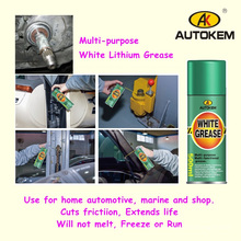 400ml White Lithium Grease Spray,