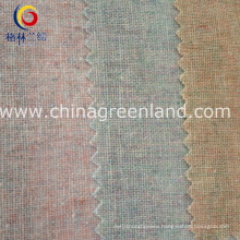 Linen Cotton Colorful Yarn Dyed Fabric for Textile Garment (GLLML124)
