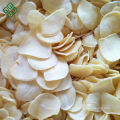 Dried spice dehydrated garlic flakes without root for supply