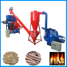 Small Capacity 500kg / H Biomassa Sawdust Wood Pellet Machine Preço
