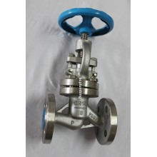 Globe Valve Flanged End with Hand Wheel Through Way Globe Valve