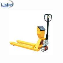 Venta al por mayor Narrow Manual Pallet Truck with Scale