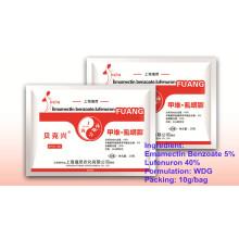 Nouvelle formulation insecticide Wdg Lufenuron et Emamectin Benzoate