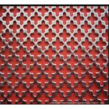Decorativo galvanizado de malla perforada de metal