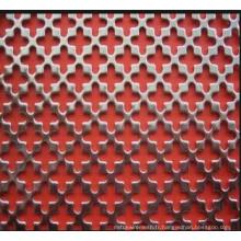 Métal à métaux perforés galvanisés décoratifs
