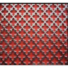 Decorativo galvanizado perfurado Mesh Metal