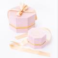 Boîte à bijoux en carton de bouteille de miel de luxe de Noël