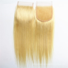 Hair Manufacturer blonde hair closure cheap human hair lace closure lace frontal