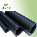 Neue Material Black HDPE Rohr Preise für Wasserversorgung / HDPE Rohr und Armaturen