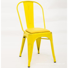 restaurant cafeteria iron metal chair