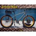 Fourche et cadre de bicyclette vélo pièces/graisse vélo Frame/neige Bicycle Frame/titane
