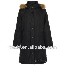 duck long women 2013 polyester down jacket