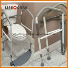 Portable Fold easily Toilet Surround Support