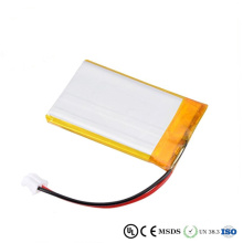 batterie rechargeable 3.7v lipo pour dispositif médical