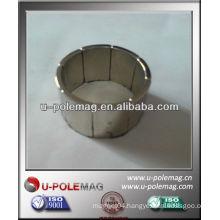 Neodymium arc magnets for magnet generator