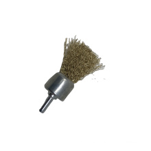 Good Quality Crimped Steel Brass Wire Brush For Polishing and Cleaning