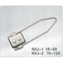 Cuatro núcleos Dead End Clamp, Cable Clamp