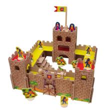 Juguete de madera del castillo de DIY en MDF
